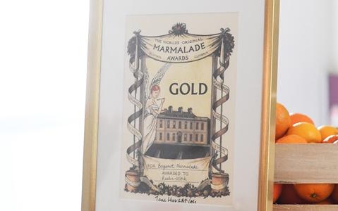 Gold Award der The Worlds Original Marmalade Awards aus dem Jahr 2019