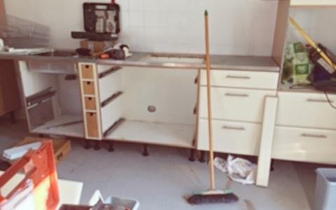 Küche von Rühr-Werk im Bau