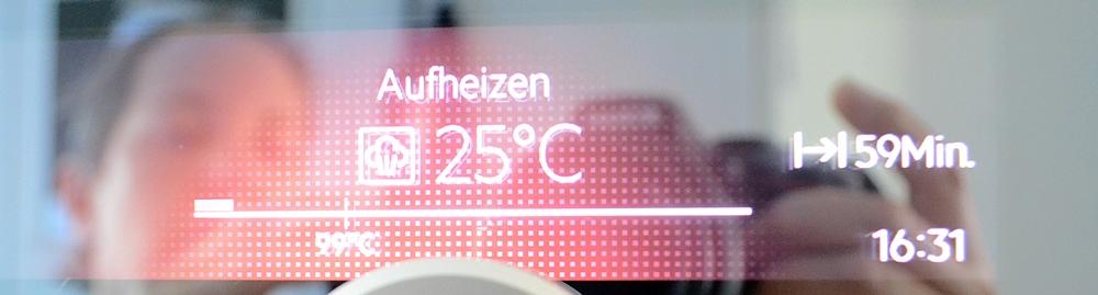 Temperaturen zum Einkochen