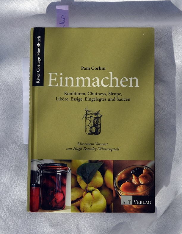 Buch von Pam Corbin mit dem Titel Einmachen.
